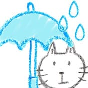 あめふる:天気予報より便利な傘予報アラーム