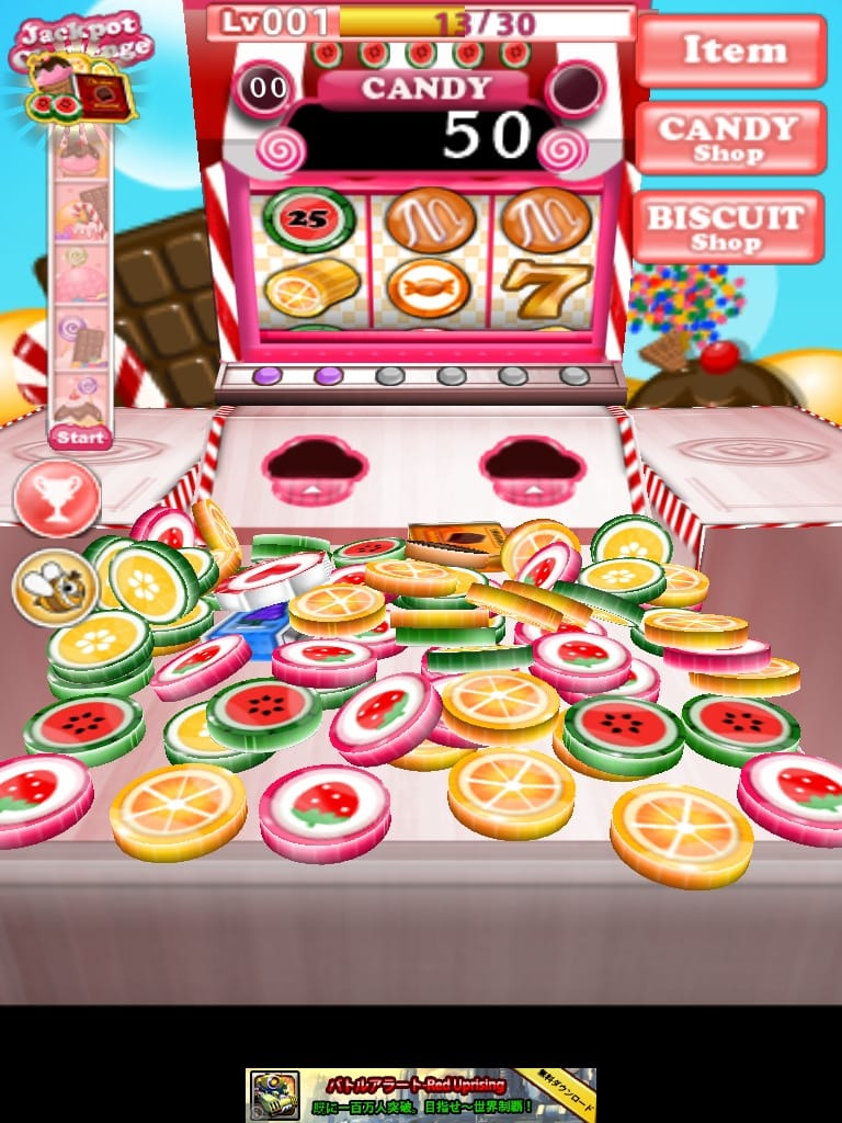 Candy Candie:コインパーレーツの姉妹ゲーム「Candy Candie」がついにリリース!!POP!!