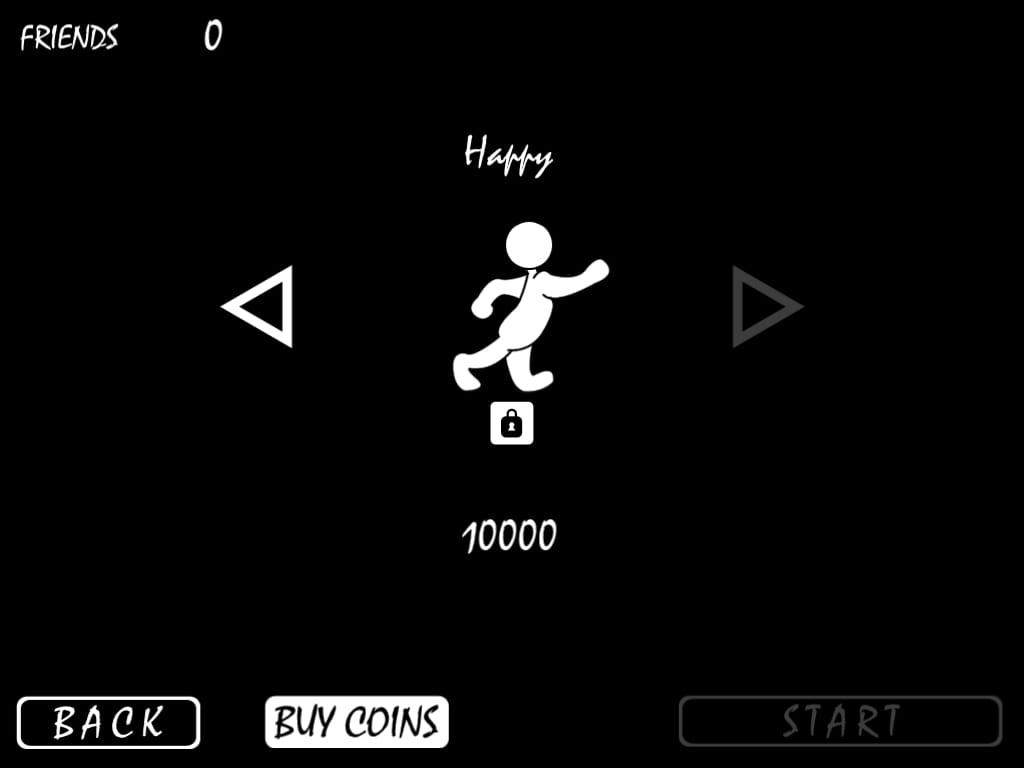 Lonely:ショボンとしたキャラクターを元気にしたげるゲーム。