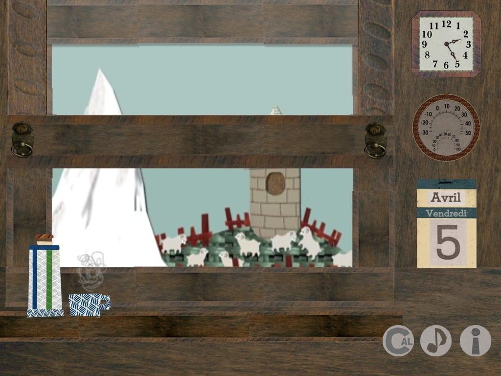 雑貨コラージュ時計:眺めて楽しむキュートな時計アプリ