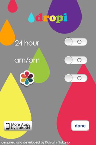 dropi :トップにデザイン時計はいかが??