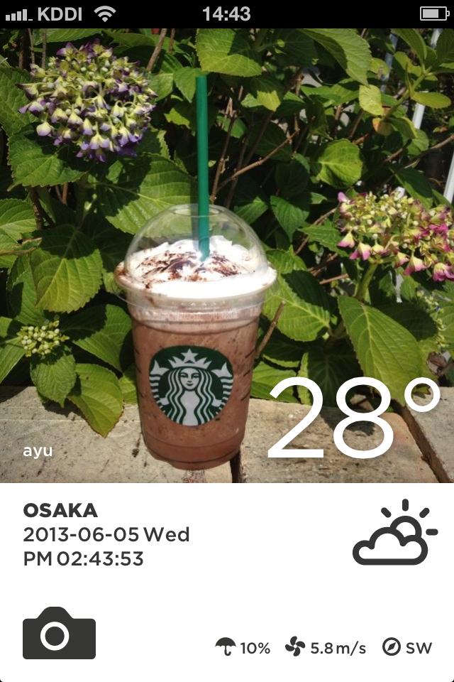 Take Weather (天気 & 写真):みんなの天気とみんなの写真が一緒になったお天気アプリ