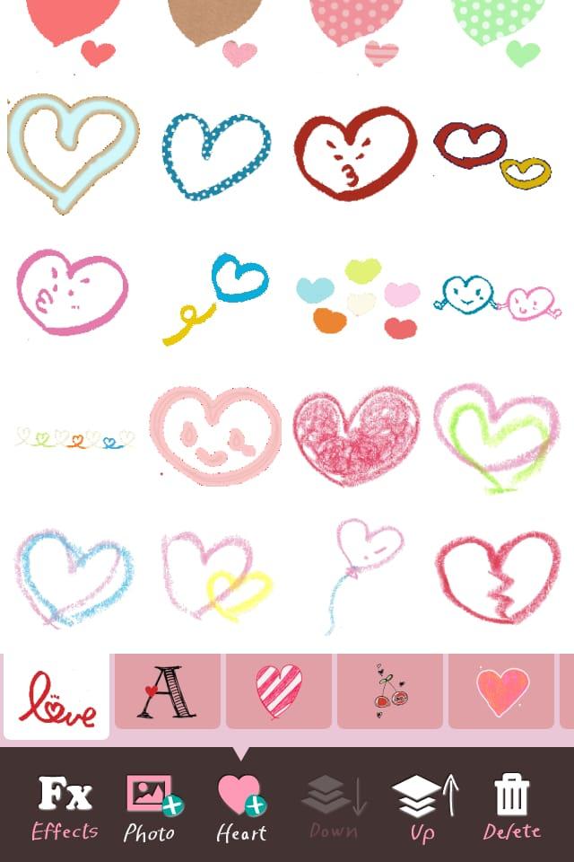 My Heart Camera×Ayaka:大人可愛いスタンプで、差をつけたデコ&写真加工&コラージュ