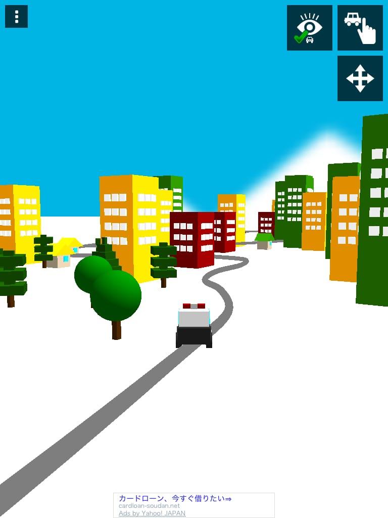 さわって走る!はたらく車(幼児向け):線を引けば走り出す!子供が夢中で遊んでしまう夢のアプリ!