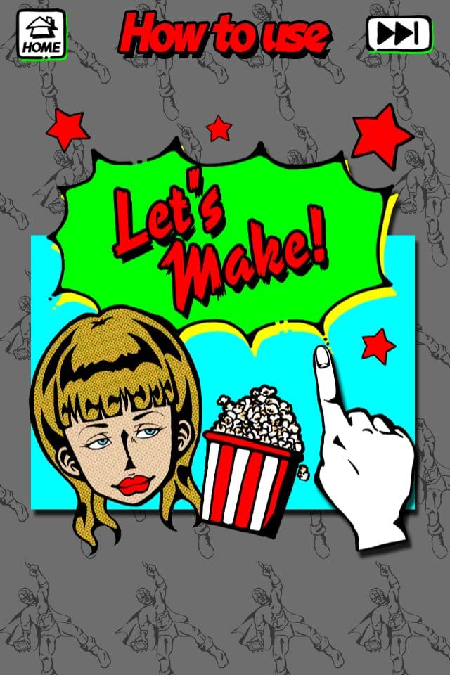 Like me! 似顔絵をつくろう – アメコミ風:スーパークールな『アメコミ風』似顔絵が作れる!似顔絵アプリLike me! 【シリーズ第4弾】!