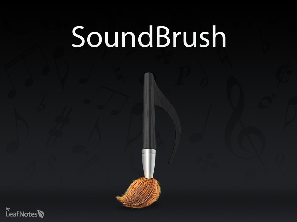 SoundBrush:音楽を描くというのはいかがでしょう?iPadならではの楽しいアプリ!
