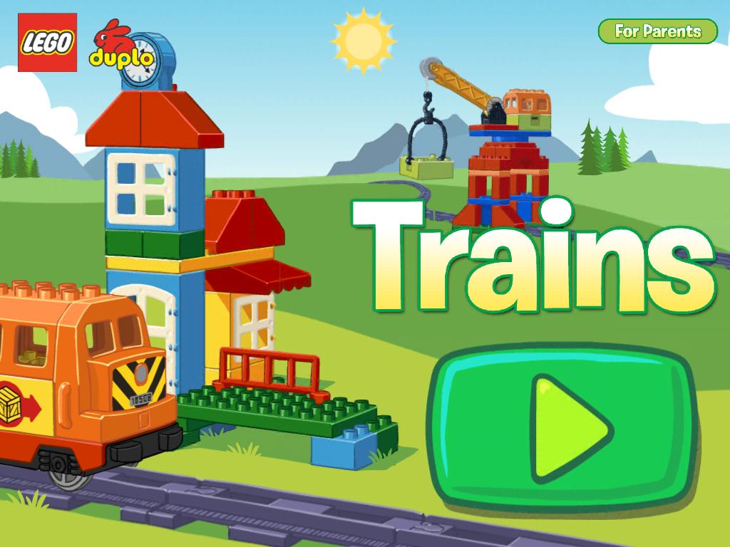 LEGO® DUPLO® Train:大人でも楽しめる!ギミックが沢山詰まったLEGOの教育アプリ