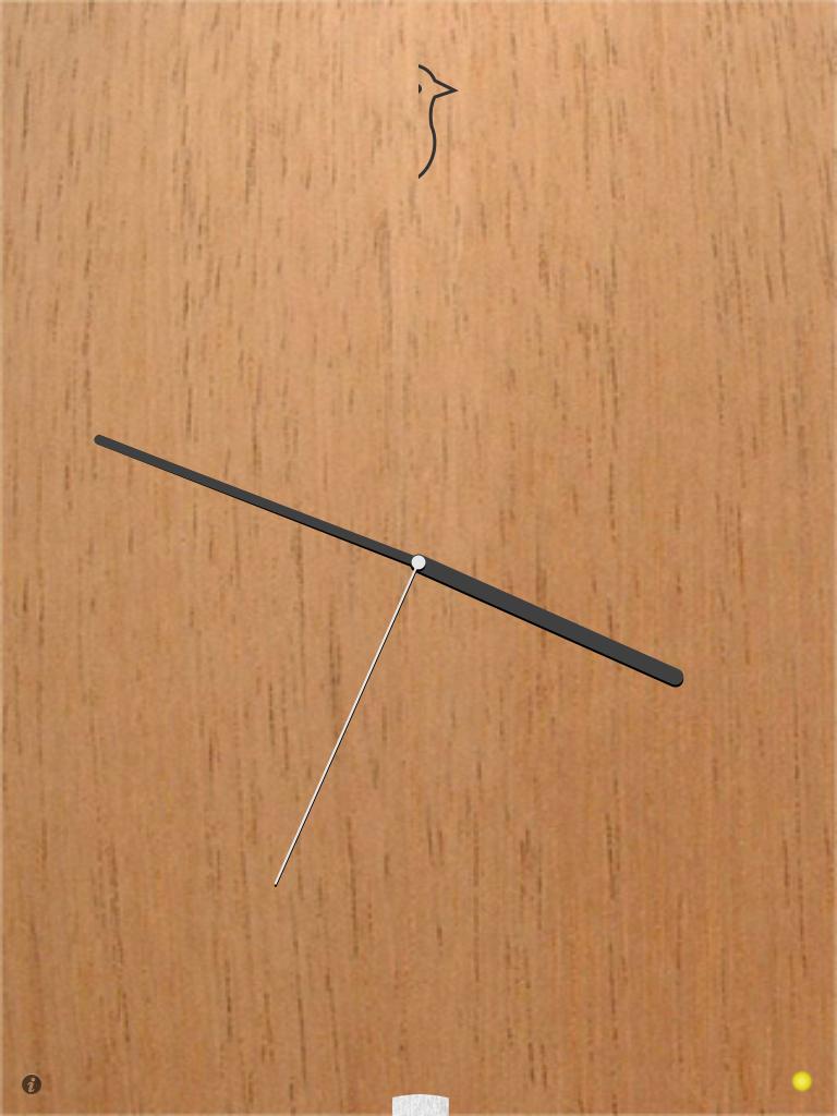 Cuckoo:シンプルカワイイ鳩時計アプリ