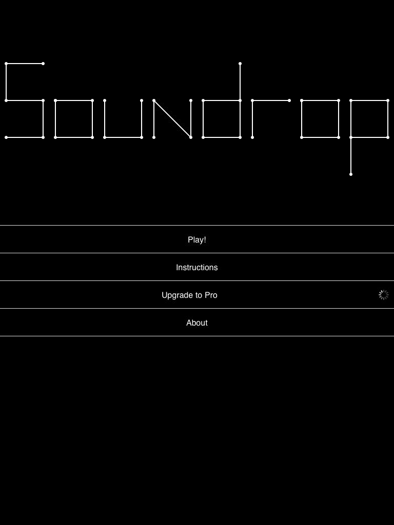 Soundrop:音で遊ぶ。音を作る。ボールと棒で独自の世界を作り上げる。