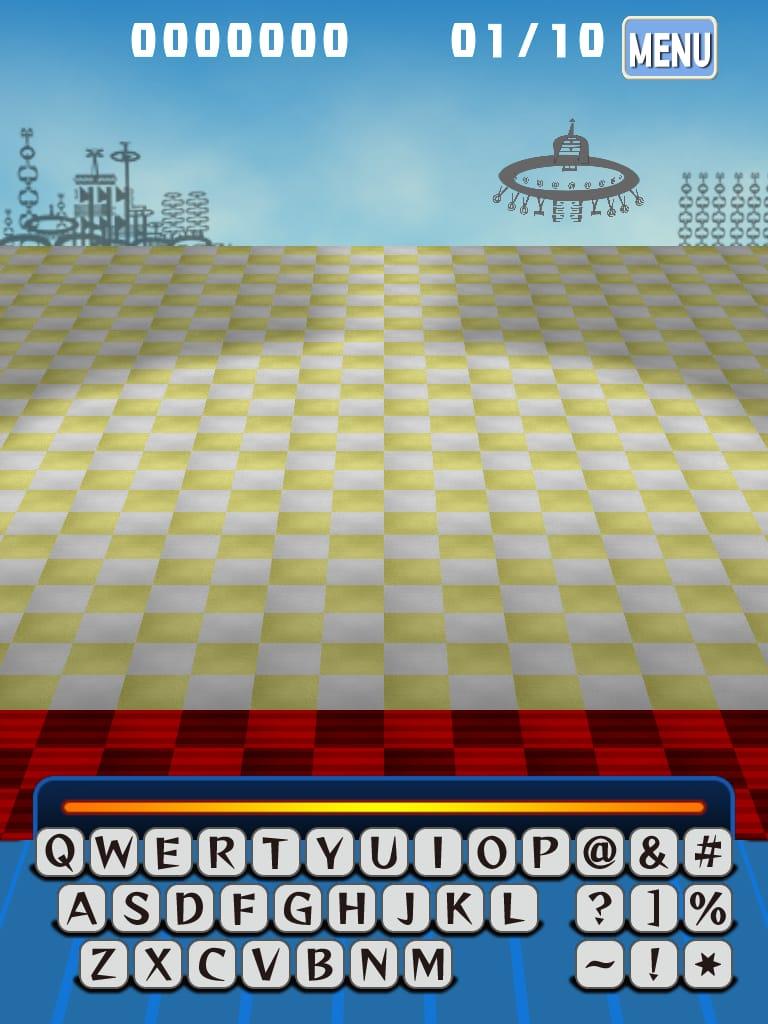 フォント・モンスター無料版:文字を使ったカジュアルシューティングゲームiPhoneアプリ_13