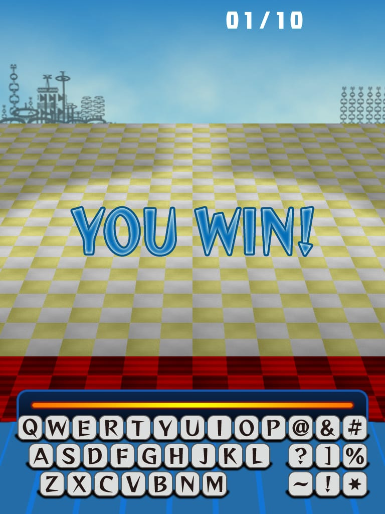 フォント・モンスター無料版:文字を使ったカジュアルシューティングゲームiPhoneアプリ_18