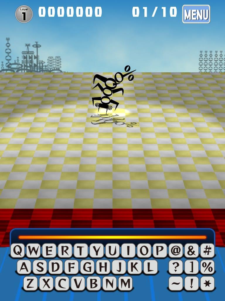 フォント・モンスター無料版:文字を使ったカジュアルシューティングゲームiPhoneアプリ_14