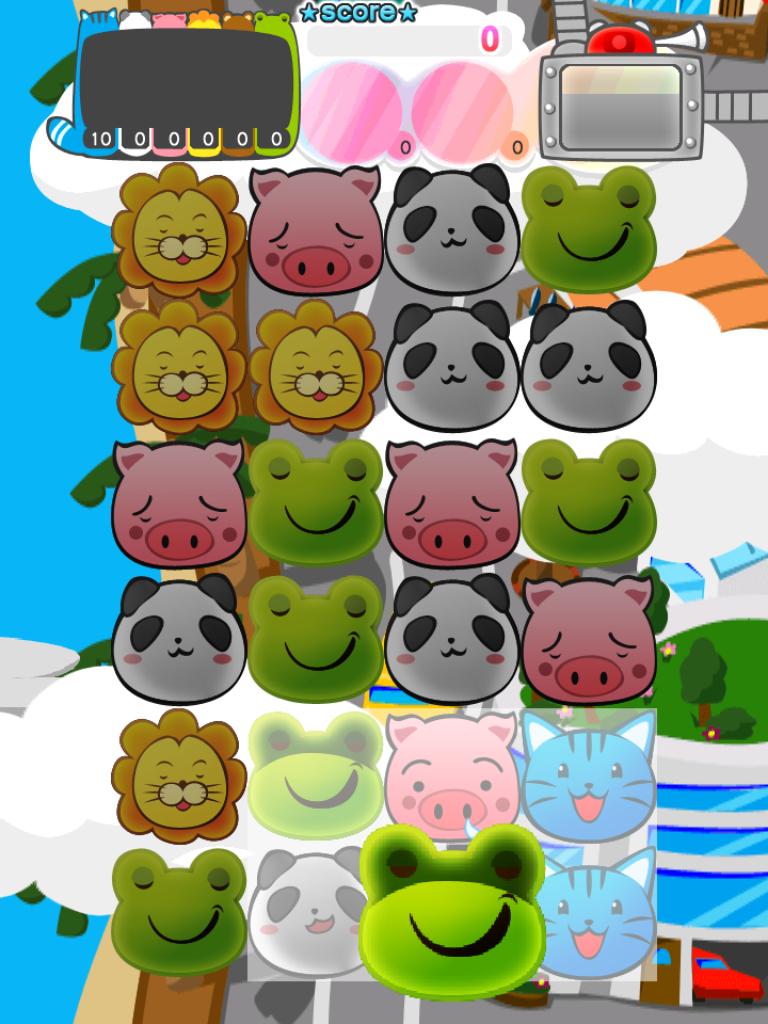 Star of grace:お子様にも人気!!可愛い動物がいっぱいの、手遊び感覚パズルゲーム!!