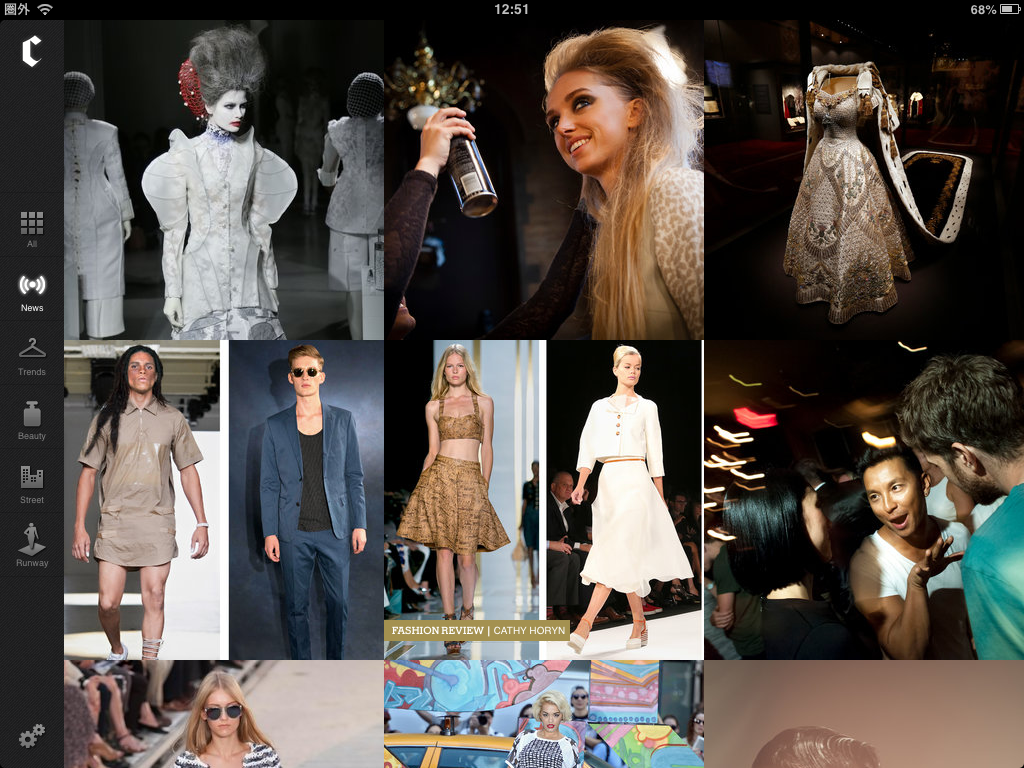 NYTimes The Collection:おしゃれ!!ニューヨーク・タイムズが出す、ファッション系iPadアプリ♪♪