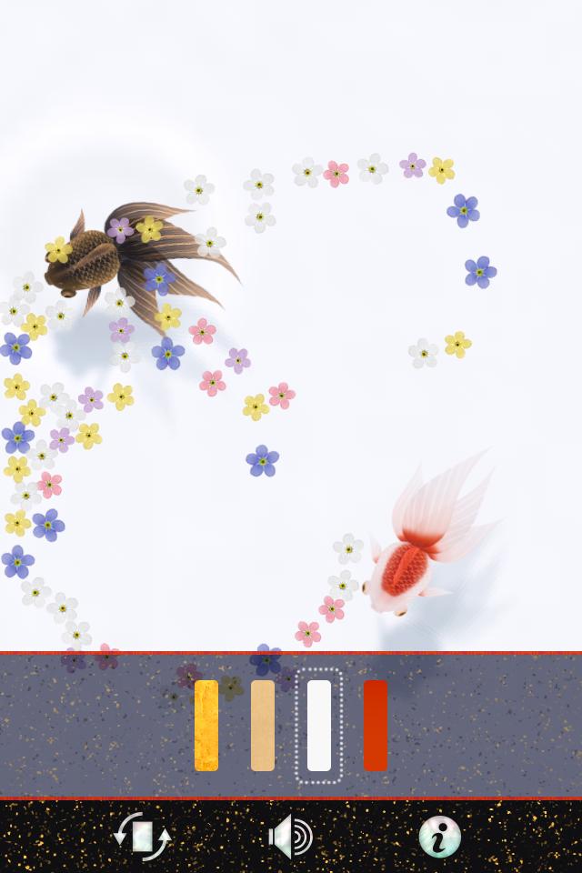 Wa Kingyo LE – 和金魚LE -:優雅な金魚が美しい!!仕事中の疲れを癒してくれます。