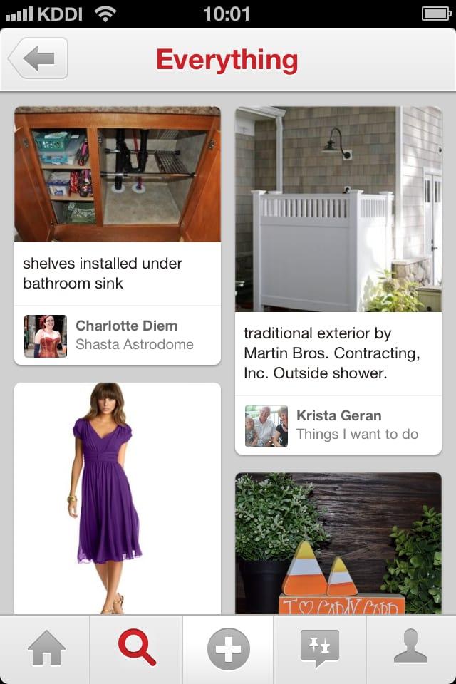 Pinterest:ピンタレストの使い方教えます!画像シェア型SNS【iPadアプリ・iPhoneアプリ】