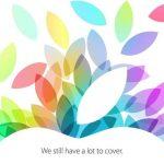 新型iPadおよびiPad miniの発表か!?10月22日(日本時間23日2時)にスペシャルイベント行う。アップルが正式発表!