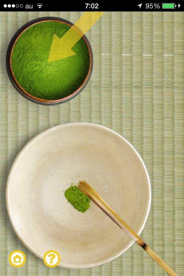 i 茶道:実にリアルな癒しの空間を、iPhone、iPadでお届け!!
