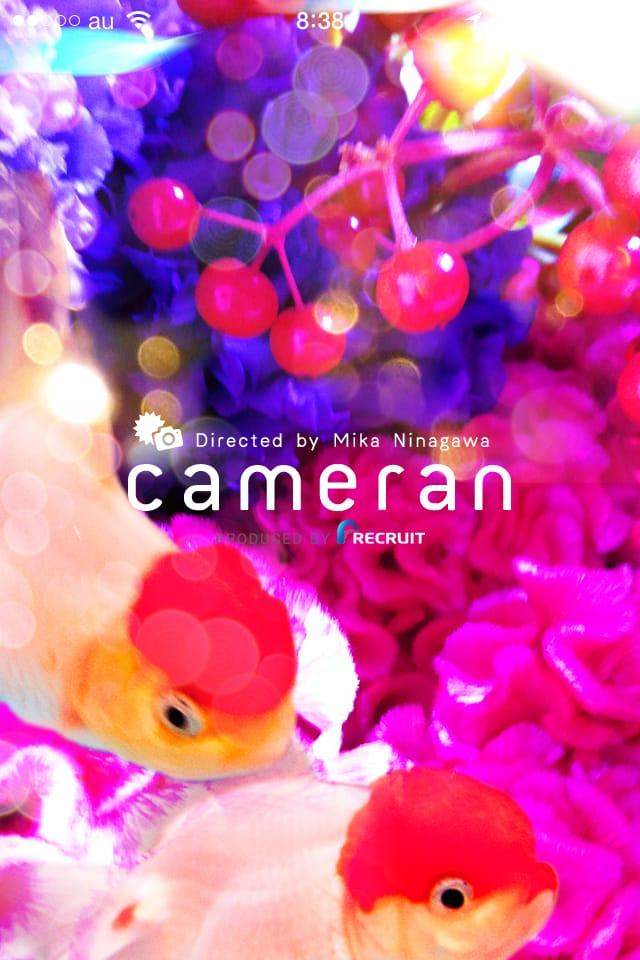 cameran:蜷川実花監修カメラ、アートな写真をもっと手軽に★