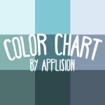 フラットデザインの色味を簡単に実装できるカラーチャート作りました!