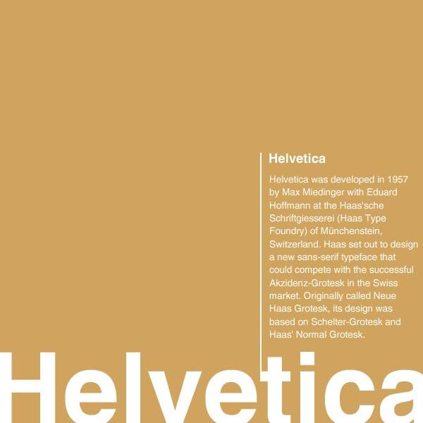 iOS7で使用されているフォント「Helvetica(ヘルベチカ)」について勉強してデザインに取り入れよう!