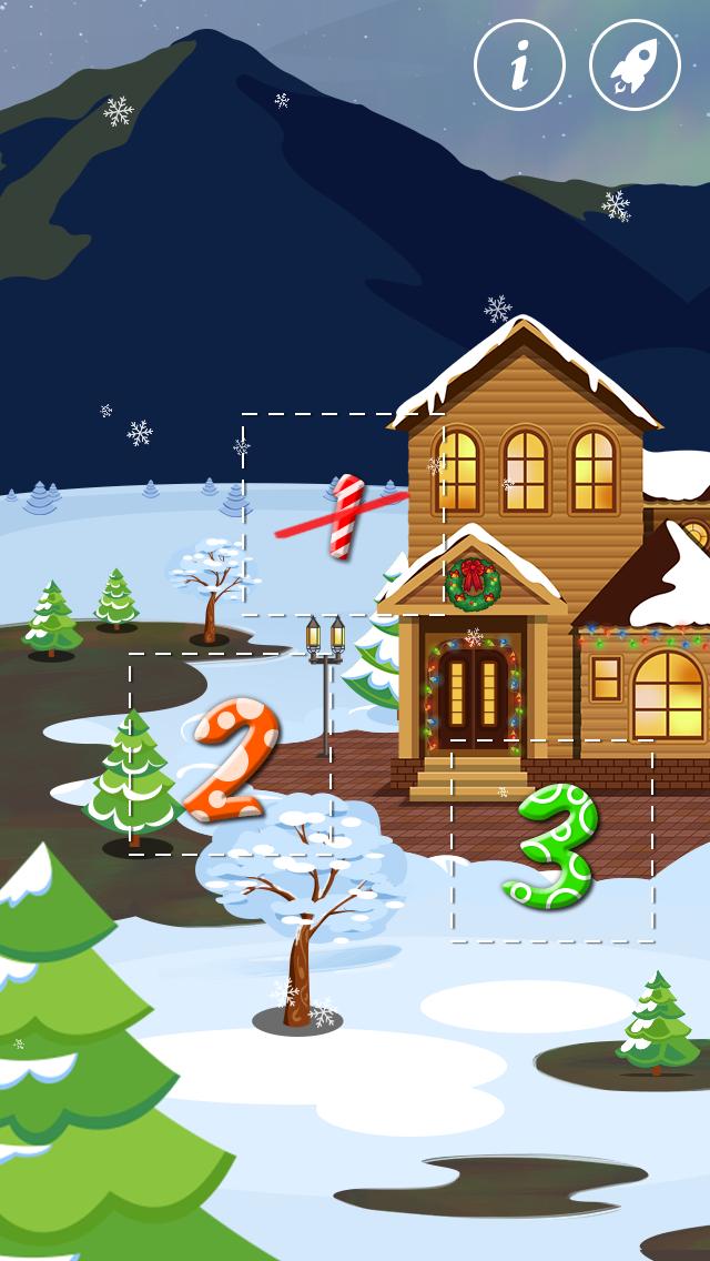 クリスマス:25個のプレゼント:クリスマスまであと何日?わくわくドキドキの毎日を過ごせるアプリ