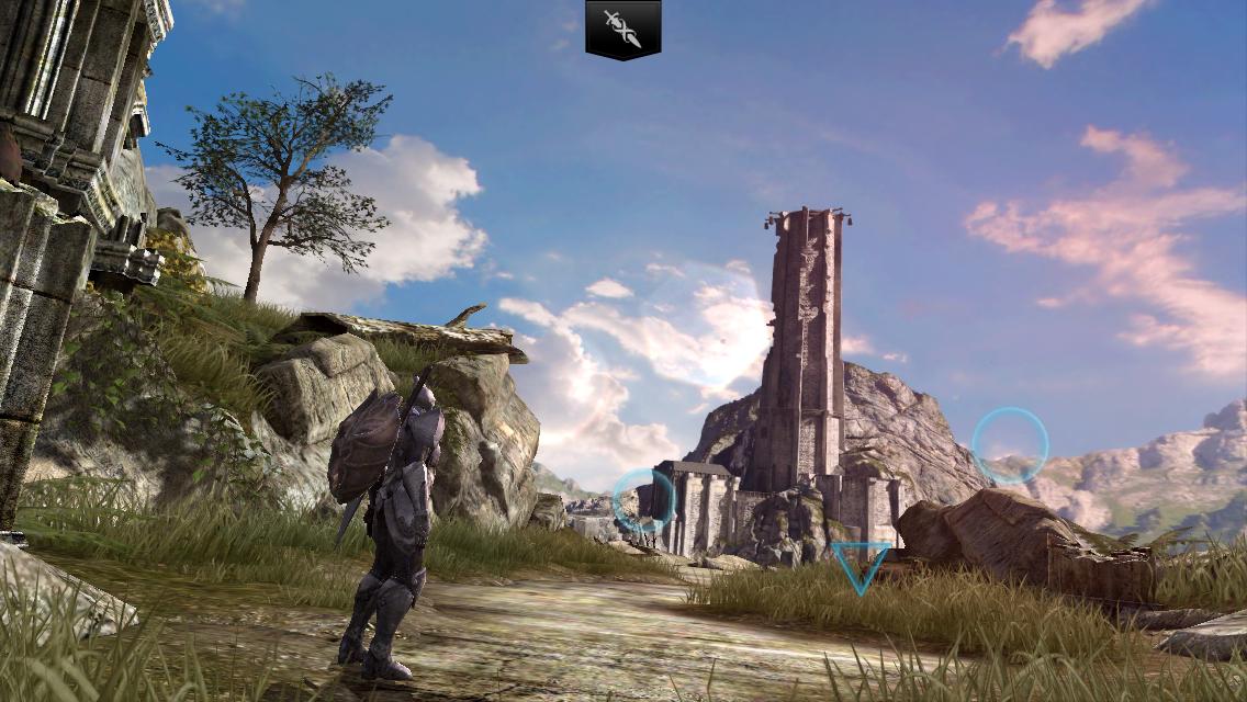 Infinity Blade II:永久に繰り返される闘いに身を置くプレイヤーを操作!!刺激的なアプリゲーム