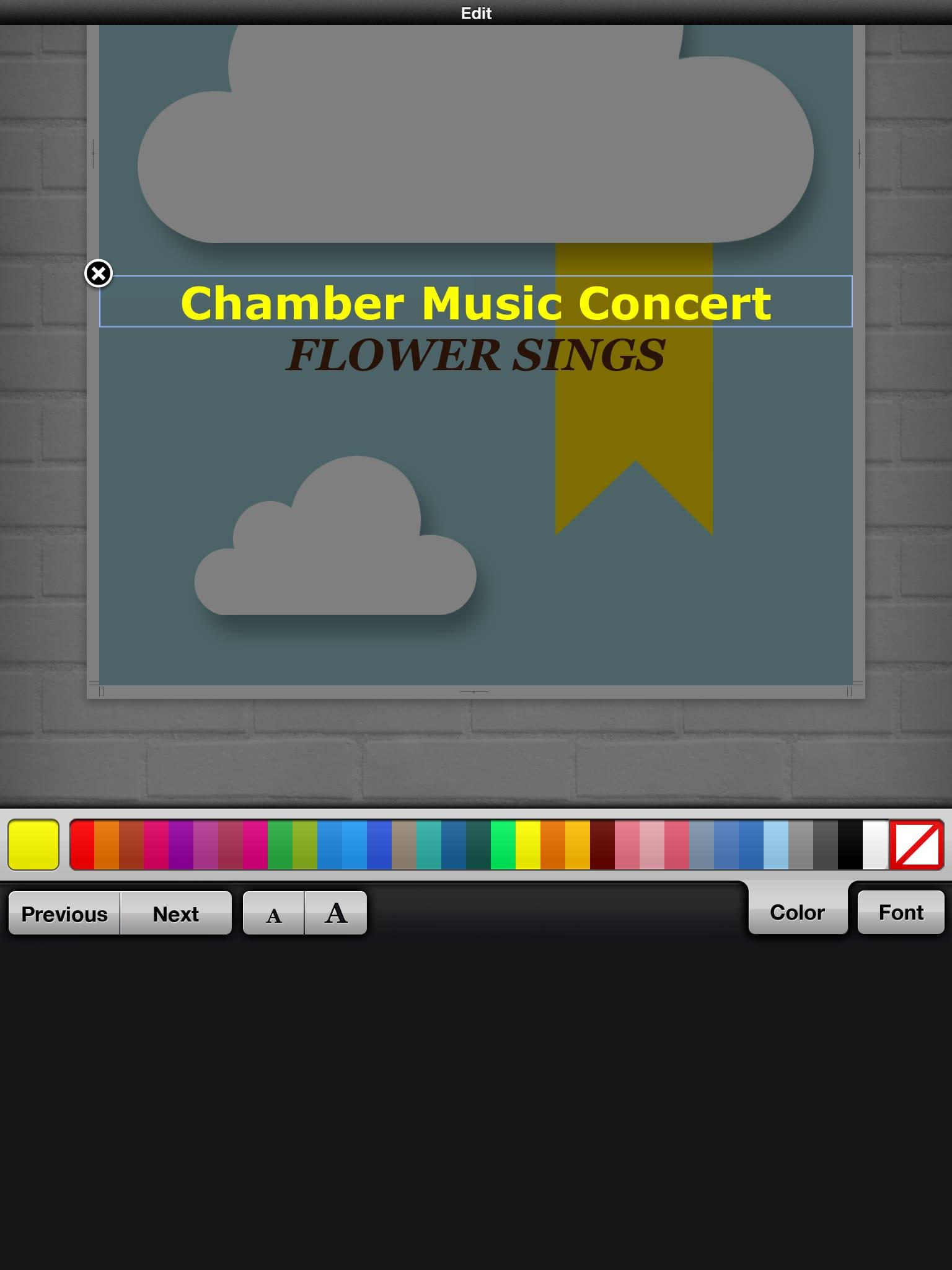 Phoster:誰でも簡単におしゃれなポスターが作れる!!イベントなどに持ってこいなお助けアプリ