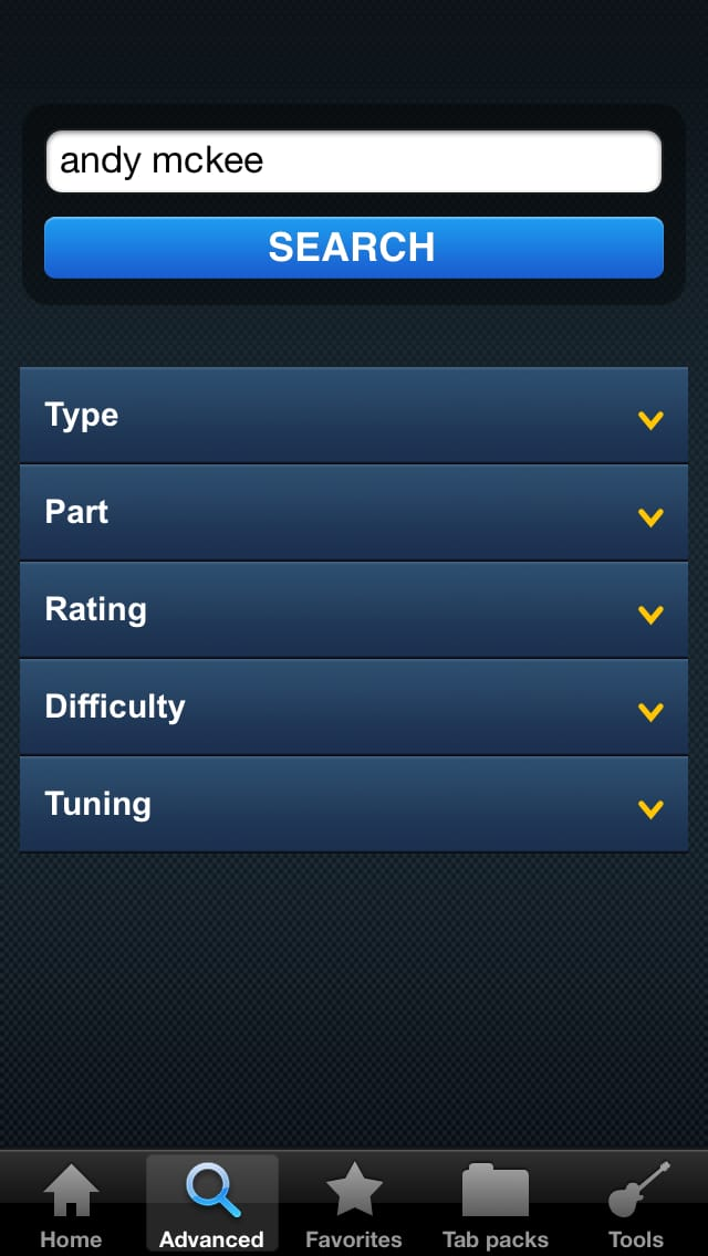 Ultimate Guitar Tabs :ギターの楽譜をお探しならこのアプリ!!簡単検索で腕も上達!!