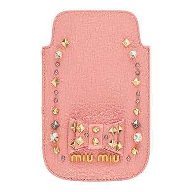 バレンタインプレゼントにiPhoneケースをお探しの方にmiumiuがおすすめ!