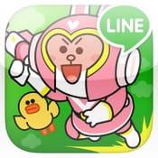 LINE Party Run:LINEキャラクターオールスターズがコスプレで大集合!彼らの宝物を奪った部長を捕まえろ!