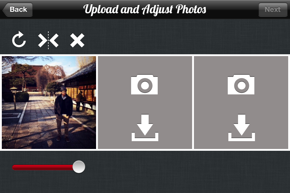 Tripty×Sean:手軽に3枚並べるだけで素敵に仕上がるカメラアプリ♪【無料】
