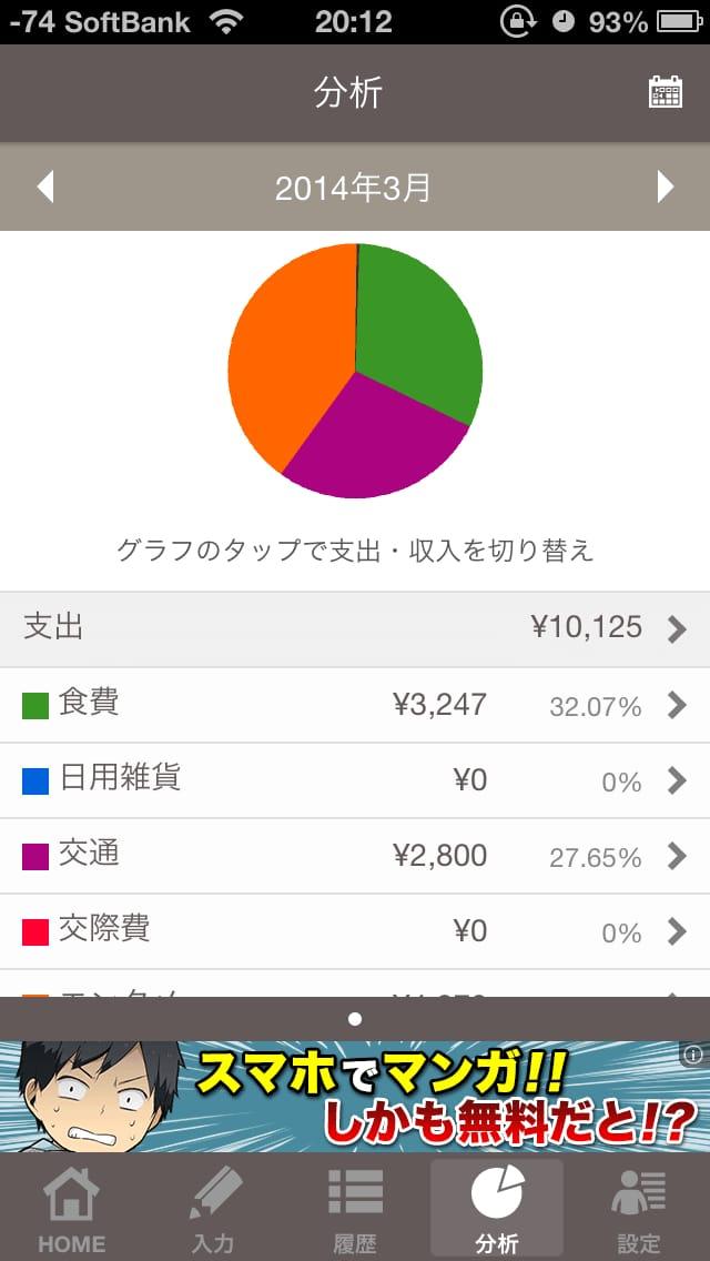 家計簿Zaim:レシートを読み取って簡単支出管理!【無料】