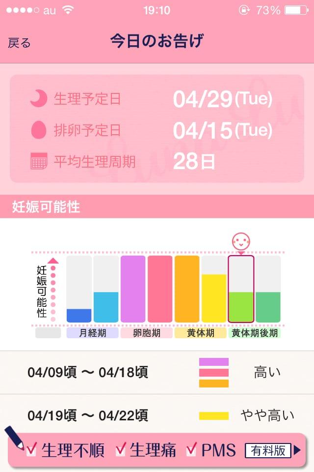 【ルナルナLite】生理・排卵日がチェックできる女性向けiPhoneアプリレビュー_5