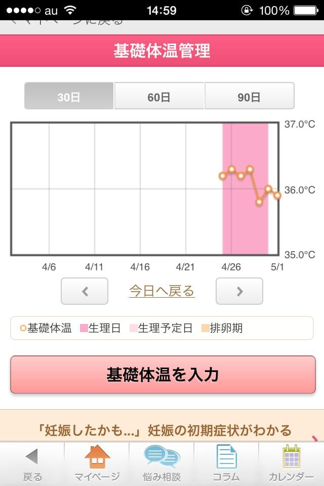 【生理日予測】ラルーン:ルナルナとどっちが良い!?女子向けiPhoneアプリ_5