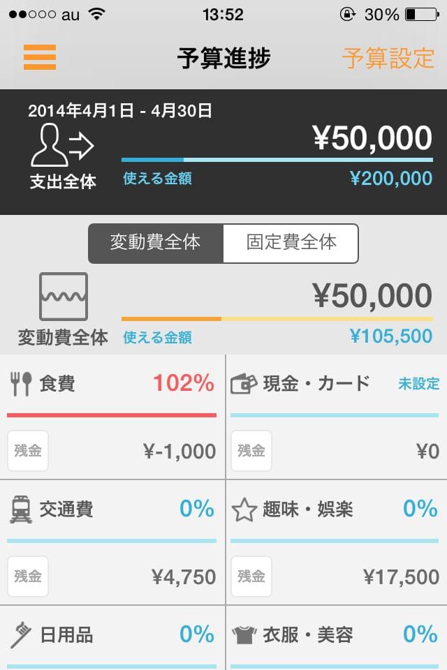 【貯金しよう】マネーフォワード:怖いくらいに便利な収支管理アプリ_6