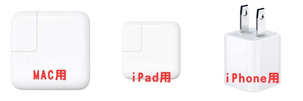 ipadが「充電していません」になった際の解決法
