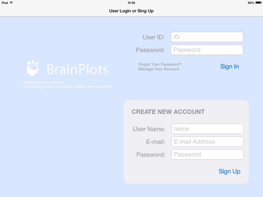 BrainPlots(ブレインプロッツ):iPadを劇的なビジネスツールにするマインドマップアプリ2