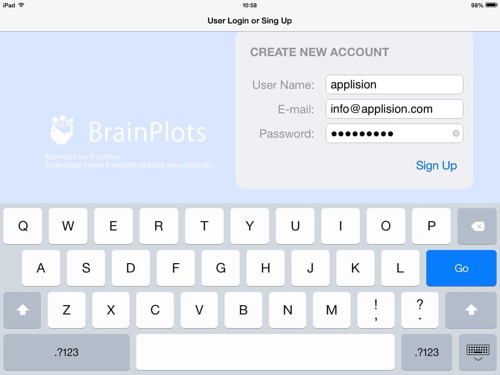 BrainPlots(ブレインプロッツ):iPadを劇的なビジネスツールにするマインドマップアプリ3