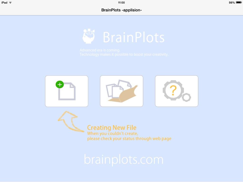 BrainPlots(ブレインプロッツ):iPadを劇的なビジネスツールにするマインドマップアプリ4
