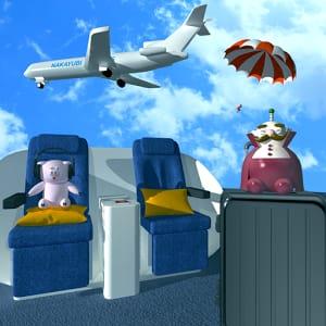 脱出ゲーム-飛行機から脱出