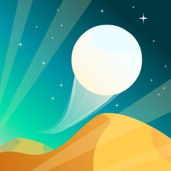 滑らかな着地が難しい!「Dune!」はシンプルなボールアクションゲーム!
