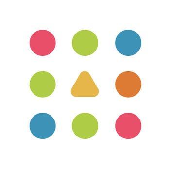 カラフルなドットが可愛いパズルゲーム「Dots & Co」