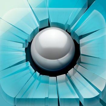 ガラスを割って進む爽快感が癖になるアプリ「Smash Hit」