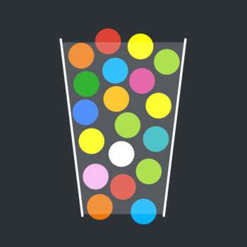 「100 Balls -Tap to Drop the Color Ball Game」アイコン