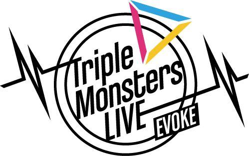 Triple Monsters LIVE -EVOKE- 開催決定!ライブタイトルとライブロゴを公開