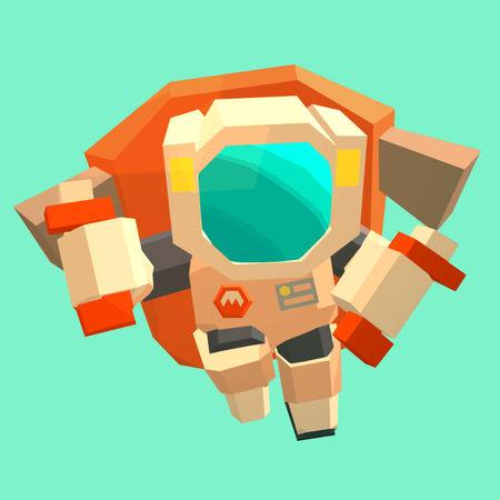 ジェットで綺麗に着地を決めろ!「簡単アクションゲーム Mars: Mars」