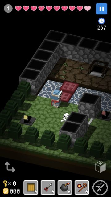 ギミック満載のパズルRPGをつくることができるブロッククエスト・メーカー「BQM」