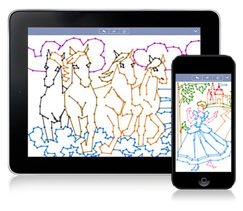 点をつなぐだけで絵が描ける!? iPhone & iPad版「コンセプティス 点つなぎ」が配信開始
