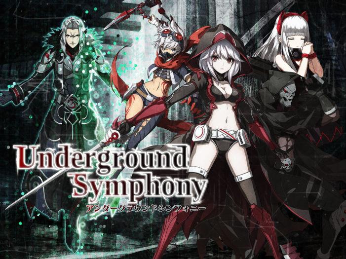 「アンダーグラウンドシンフォニー」が事前登録を開始!